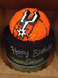Astounding 16 Best Spurs Cake Images Spurs Cake Cake Birthday Birthday Cards Printable Trancafe Filternl
