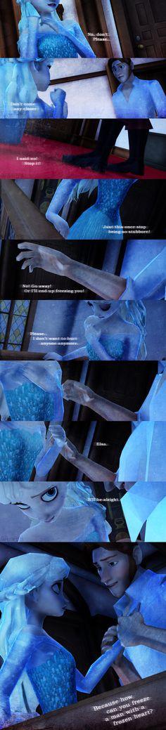 Frozen. Hans, Elsa. Helsa. How Can You? by simplifiedwords.deviantart.com on @deviantART