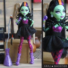 Monster Doll Superstar Dress by AralGhostier on Etsy