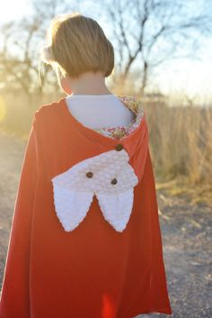 Make your own fox cape for kids || Lemon Squeezy Home