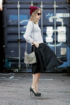 perfect blend of dressy + casual #Love