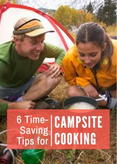 Between the morning hike and afternoon bike ride, there's little to no time left to plan and prepare a meal. If cooking is taking up too much time during your camping adventures, use these time-saving tips to speed up the process so you can enjoy every minute of your trip. 6 Time-Saving Tips for Campsite Cooking http://www.active.com/outdoors/articles/6-Time-Saving-Tips-for-Campsite-Cooking.htm?cmp=23-243-1264