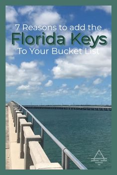 Check out these 7 reasons to add a Florida Keys vacation to your bucket list! #FloridaKeys