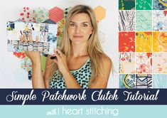 FREE Simple Patchwork Clutch Tutorial