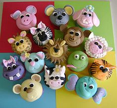love these animal cupcakes