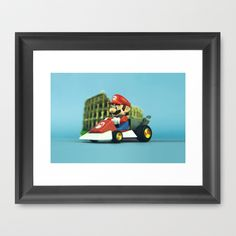 Super Mario: the homecoming Framed Art Print by Josemanuelerre