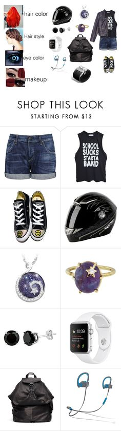 """""""morning Star (part 1 outfit)"""" by adreianna-arroyo on Polyvore featuring Citizens of Humanity, Converse, The Bradford Exchange, Andrea Fohrman, Yohji Yamamoto, Beats by Dr. Dre and John Hardy"""