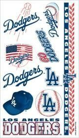 Los Angeles Dodgers Temporary Tattoos . $4.95