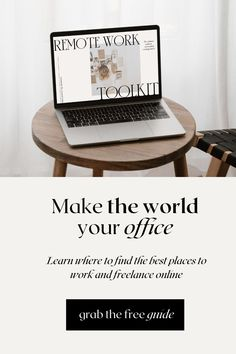 There's never been a more relevant time to find work online. Grab the free guide and find the best places to find quality remote jobs you'll actually love. Best Online Jobs, Online Work, Freelance Online, Best Places To Work, Find Work, Best Blogs, Online Entrepreneur, Starting Your Own Business, Digital Nomad