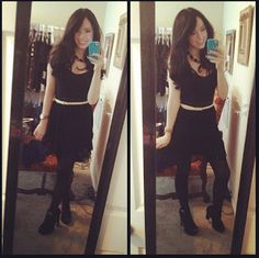 All Black outfit<3