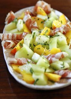Ham and Summer Fruit Salad