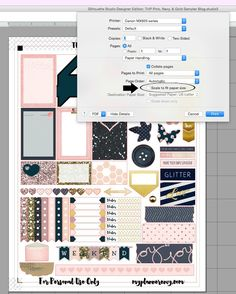 My Planner Envy: My Tips & Tricks & Printer Settings for my printables and other printables you find online