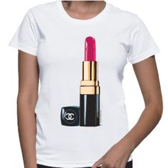 Own It! Chanel Lipstick Tshirt http://www.etsy.com/shop/DivanessaBoutique
