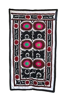 Vintage Suzani, Suzani Wall Hanging, Suzani Bedspread, BL... https://www.amazon.com/dp/B01LDVVWN8/ref=cm_sw_r_pi_dp_x_3qM.xbDQJT984
