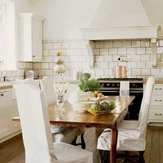 Soothing white with tan....