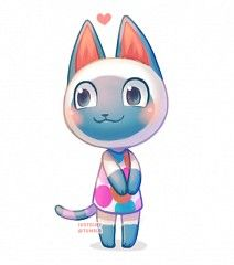 Mitzi was my BFF on my old ACNL town. I miss her...