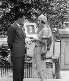 vintagechampagnefever:  Norma Shearer with her husband, famed MGM producer Irving Thalberg
