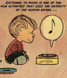 Music and the brain, Charlie Brown