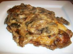 My Mother in Law made this for a family dinner years ago, at first I wasn't going to try for I am not fond of mushrooms but am so glad I did, the flavor of this chicken is amazing. Now whenever we have company for dinner this is usually what I make.  It's easy, inexpensive, foolproof and always a hit.