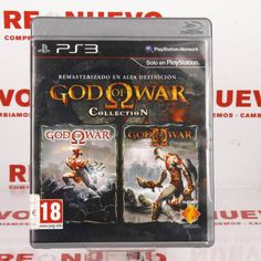 GOD OF WAR COLLECTION para PS3 de segunda mano E271814 #godofwar #collection #segundamano