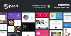 Pearl WP v1.9  WordPress Themes Bundle  Blogger Template