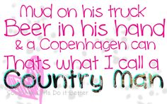 ".Sounds like my ""Big Country"""