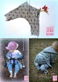 Kostenlose Nähanleitung / Freebook für eine schöne und einfache Baby- /Kinderhose: Frühchen bis Kleinkind! (Gr.40-92) - mit Hosentaschen + nicht schlabberig