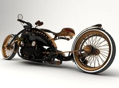 Steampunk Style v.1 is derieved from Black Widow - Design by Mikhail Smolyanov
