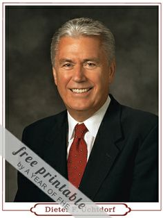 FHE lesson to get ready for General Conference: Dieter F. Uchtdorf