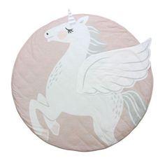 Mister Fly Unicorn Playmat - Great for tummy time!  #misterfly #oliverthomas #unicorn #playmat #tummytime #nursery #baby #nurserydecor #babystyle