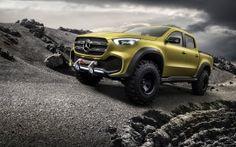 WALLPAPERS HD: Mercedes Benz Concept X Class Pickup Adventurer
