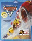 DISNEY PIXAR CARS 3 BLURAY & DVD & DIGITAL SET with Owen Wilson & Armie Hammer