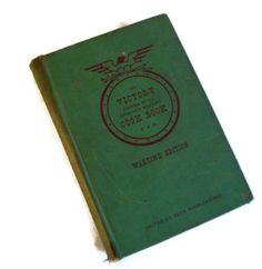 Vintage Antique Cookbook The Victory by MerrilyVerilyVintage