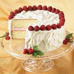Raspberry White Chocolate Cake   STL Cooks