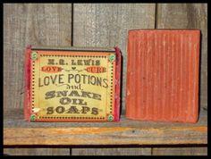 M.R Lewis Snake Oil & Love Potion ~ Love Cure Soap – Nature's Emporium Cherokee Soap Co.