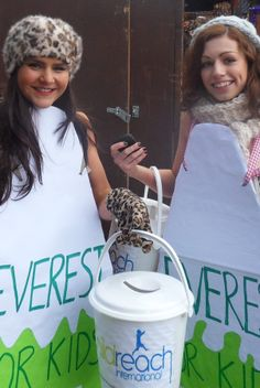 Fancy dress is usually a great way to raise some extra funds at a street collection!