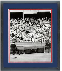 Dick Fosbury Circa 1968 Mexico Olympics - 11 x 14 Matted/Framed Photo