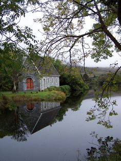 St. Finbarr's Cleft, Gougane Barra,County Cork,Ireland.