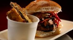 My Kitchen Rules - Josh and Andi: Beef burgers with zucchini fries Clean Recipes, Beef Recipes, Cooking Recipes, Yummy Recipes, Healthy Recipes, Healthy Meals For Kids, Kids Meals, Healthy Treats, My Favorite Food