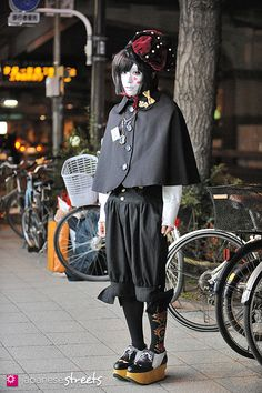130211-2516 - Japanese street fashion in Harajuku, Tokyo  (I want to look like her.)