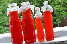 Sirop de capsuni fara fierbere Savori Urbane (12) Hot Sauce Bottles, Preserves, Deserts, Urban, Canning, Drinks, Food, Decor, Sweet
