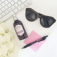 A quick spritz of the Hydrating Radiance Mist is a better midday pick-me-up than coffee.  #DevonnebyDemi #beauty #skin #workspace