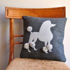 Buongiorno dal #barboncino!!! :) #cuscino #pillow #poodle