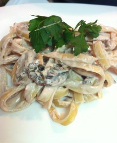 Delicious and easy dinner #Creamy #mushroom #pasta
