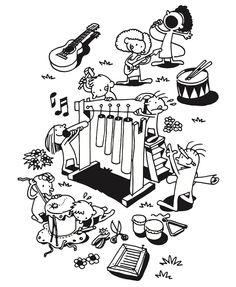 Illustration, Malbuch, Kinder