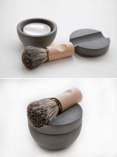 Fancy - Interior design room: Concrete Shaving Kit by Lovisa Wattman.