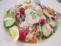 Outback Steakhouse Ranch Salad Dressing Copycat Recipe. I need to try this with parsley like at Jason's Deli
