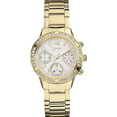 W0546L1 Women's Sport Chrono Stainless Steel Bracelet Watch *** Learn more by visiting the image link.(It is Amazon affiliate link) #commentbackteam