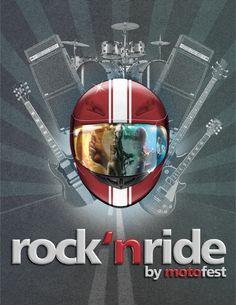 rock 'n ride by motofest Rock N, Bmw Logo, Movie Posters, Film Poster, Billboard, Film Posters