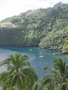 balade sur l'île de Tahuata..(Marquise)